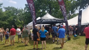 Witch's Hat booth at 2019 Summer Beer Festival