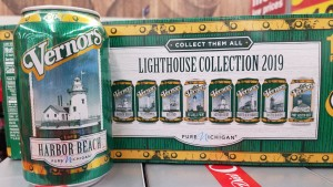Vernors Michigan Lighthouse Cans 2019
