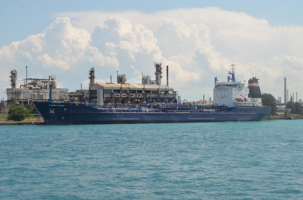 Huron Lady Cruises Algoma Hansa Freighter Sarnia Ontario