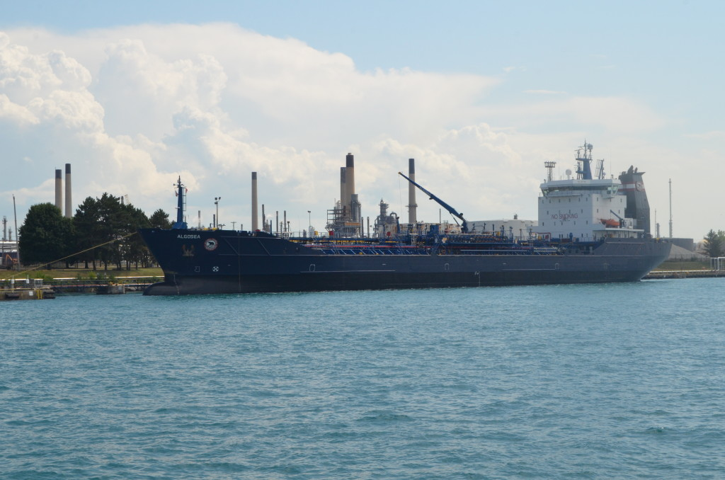 Huron Lady Cruises Algosea Tanker Sarnia Ontario