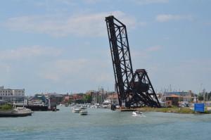 Huron Lady Cruises Bascule Railroad Bridge Port Huron