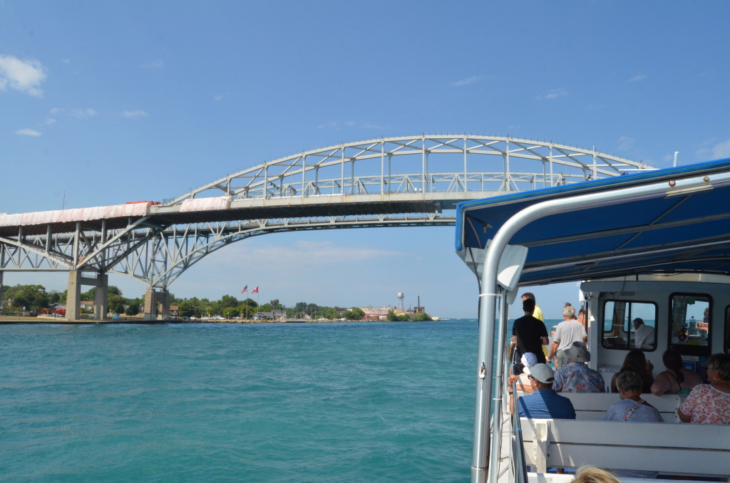 Huron Lady Cruises Blue Water Bridge FEATURE