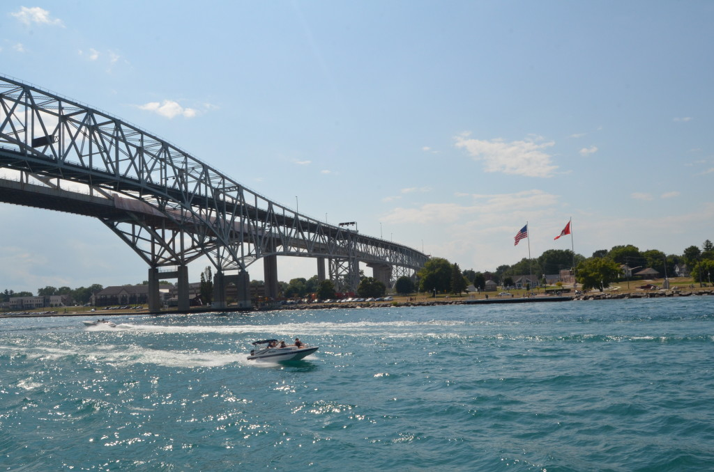 Huron Lady Cruises Blue Water Bridge Lake Huron
