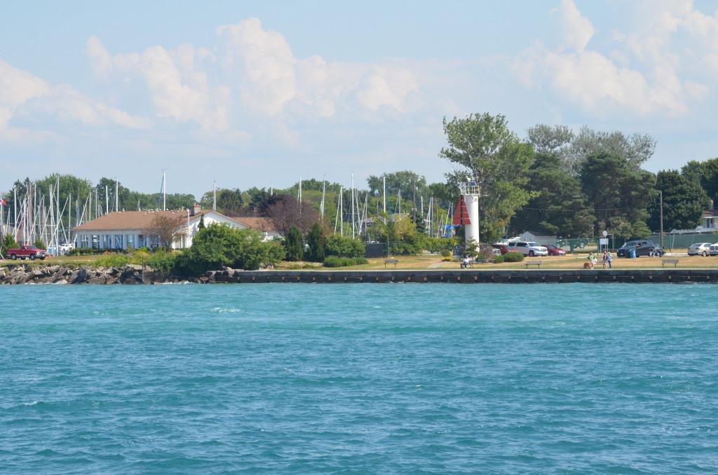 Huron Lady Cruises Point Edward Range Light