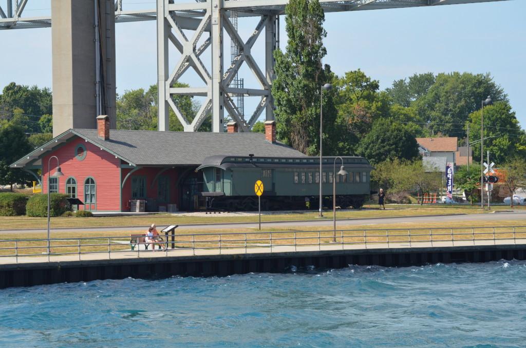 Huron Lady Cruises Port Huron Train Depot