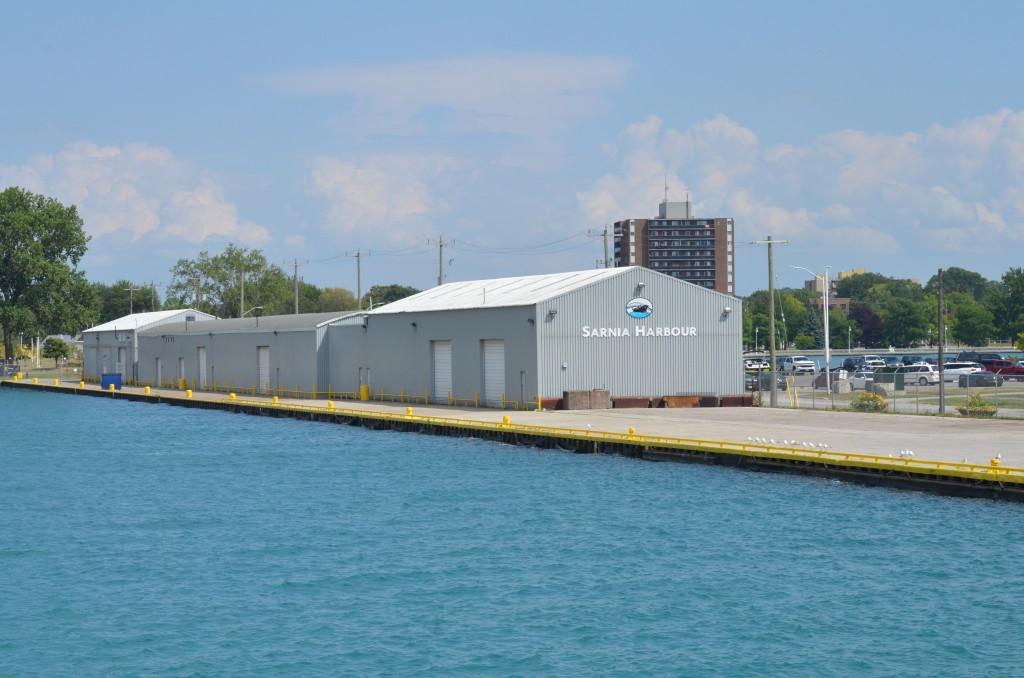Huron Lady Cruises Sarnia Dock