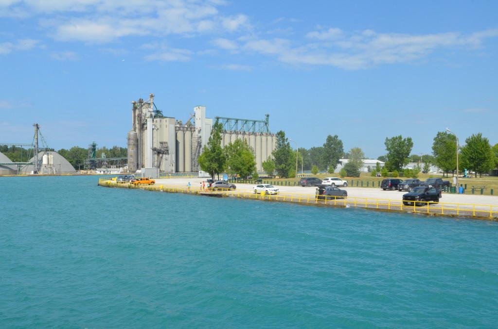 Huron Lady Cruises Sarnia Dock and Park