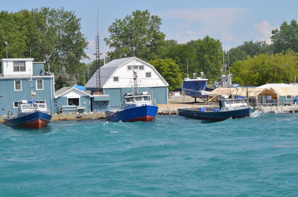 Huron Lady Cruises Sarnia Fisheries