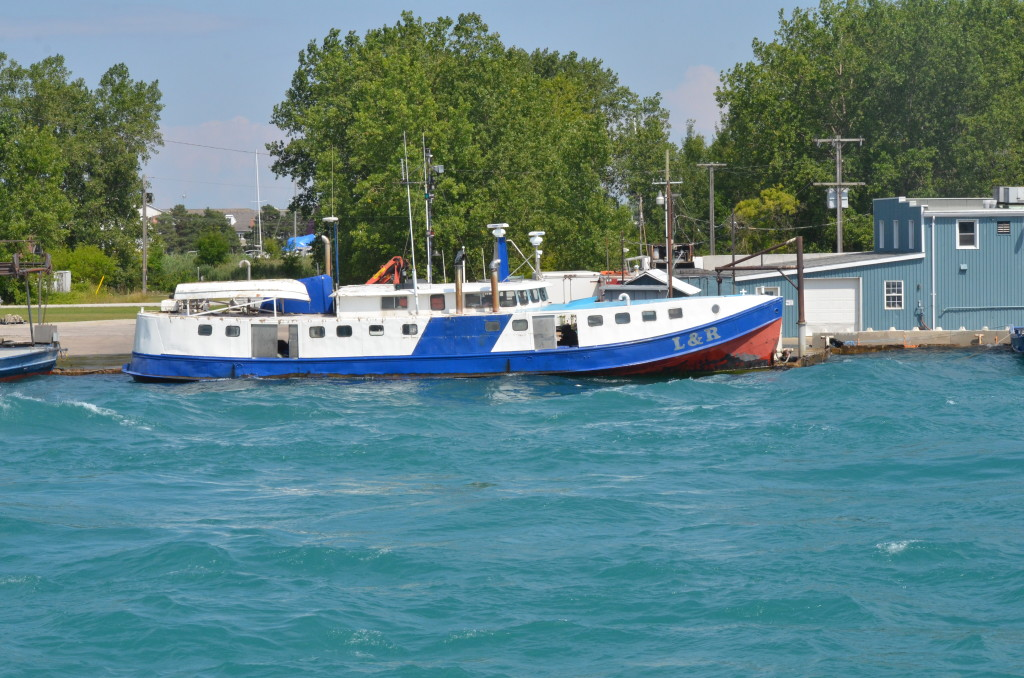Huron Lady Cruises Sarnia Fishing Tug