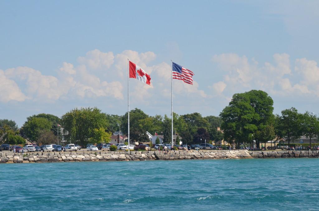 Huron Lady Cruises USA Canada Border Michigan
