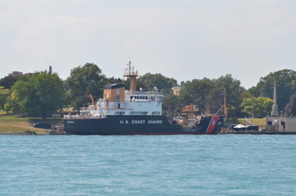 Huron Lady Cruises USCG Cutter Hollyhock Michigan