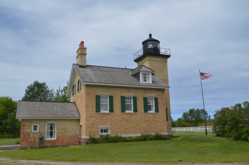 Ontonagon Lighthouse Lake Superior Upper Peninsula
