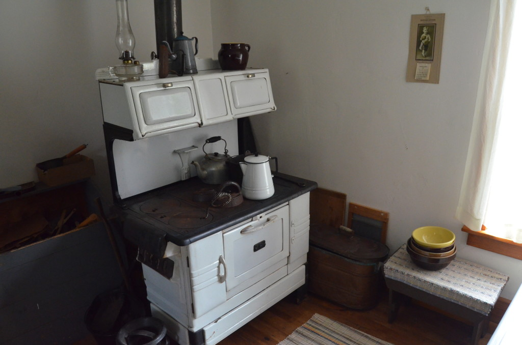 Ontonagon Lighthouse Stove Kitchen