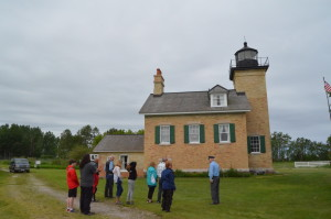 Ontonagon Lighthouse Tour Group