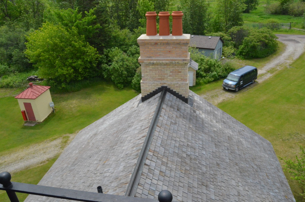 Ontonagon Lighthouse Tour Tower Roof
