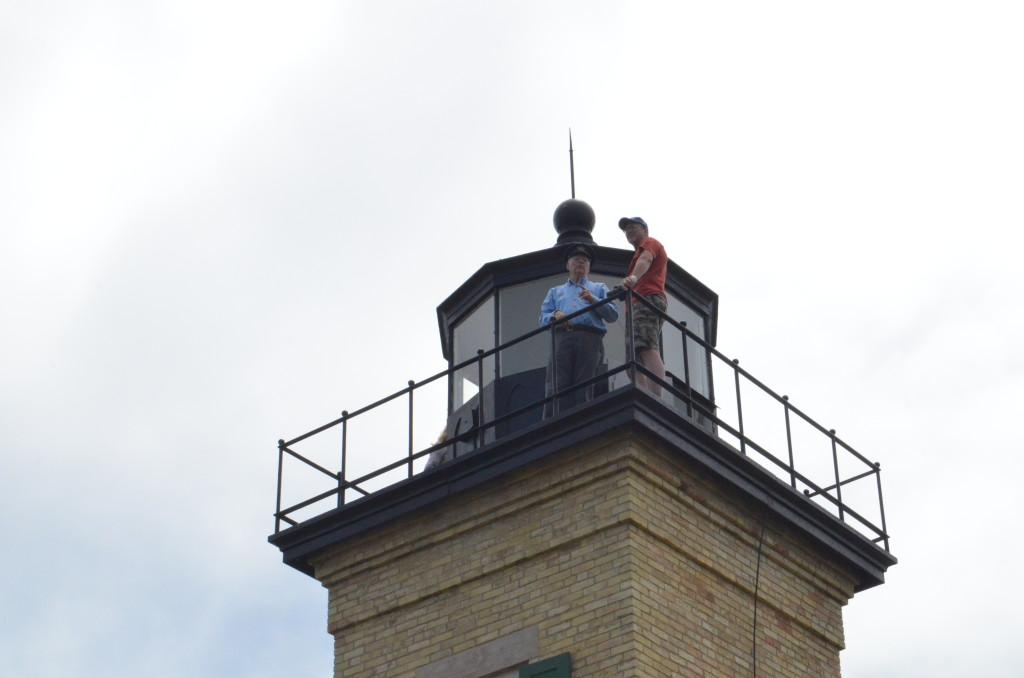 Ontonagon Lighthouse Tower Dad Tour