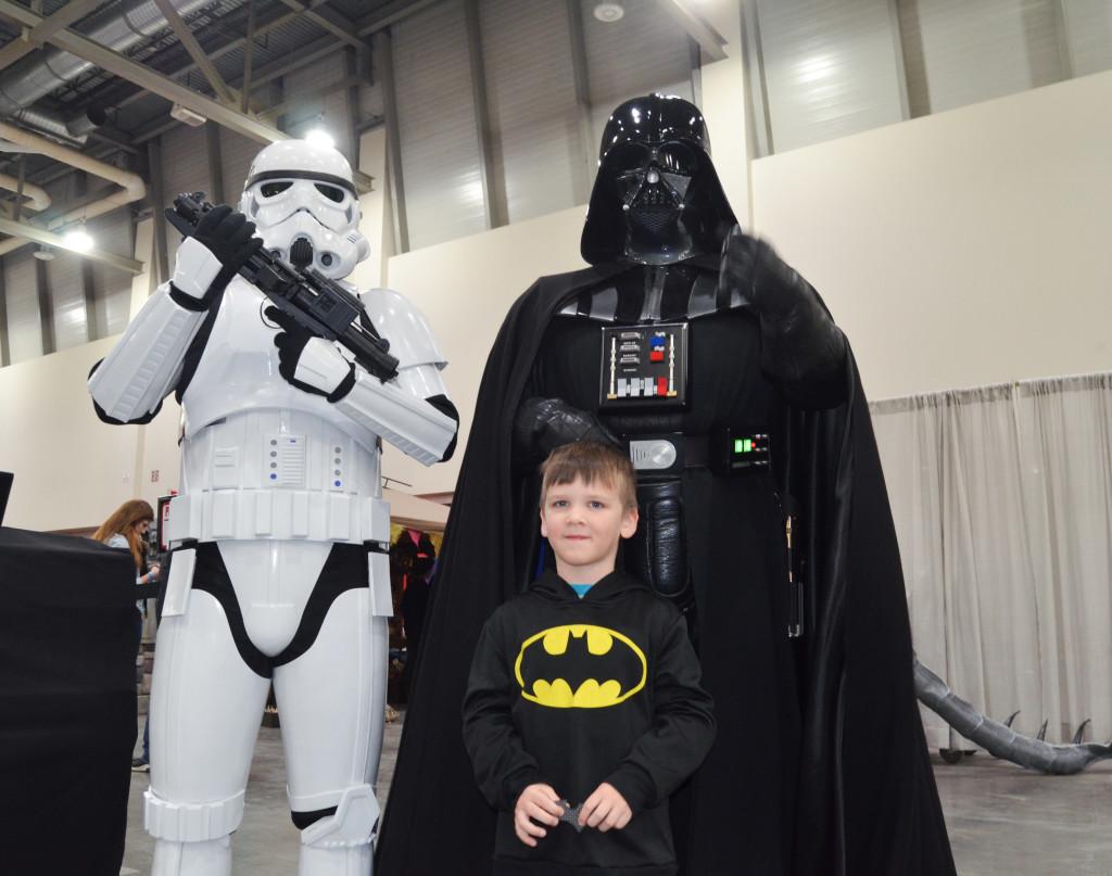 Grand Rapids Comic Con 2019 Stormtrooper Darth Vader