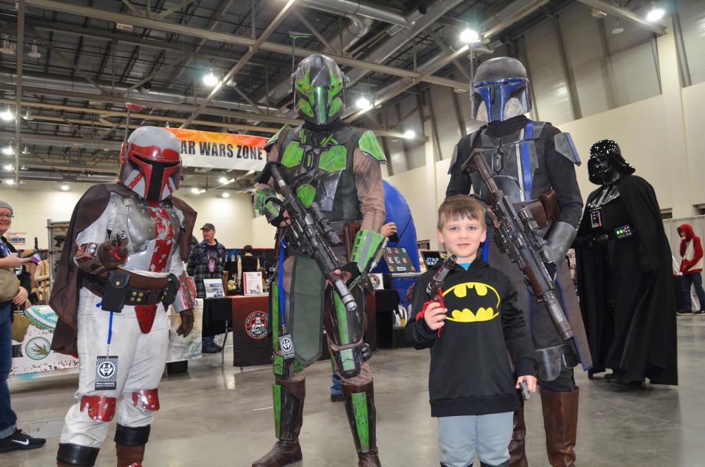 Grand Rapids Comic Con 2019 Mandalorian Mercs Cosplay
