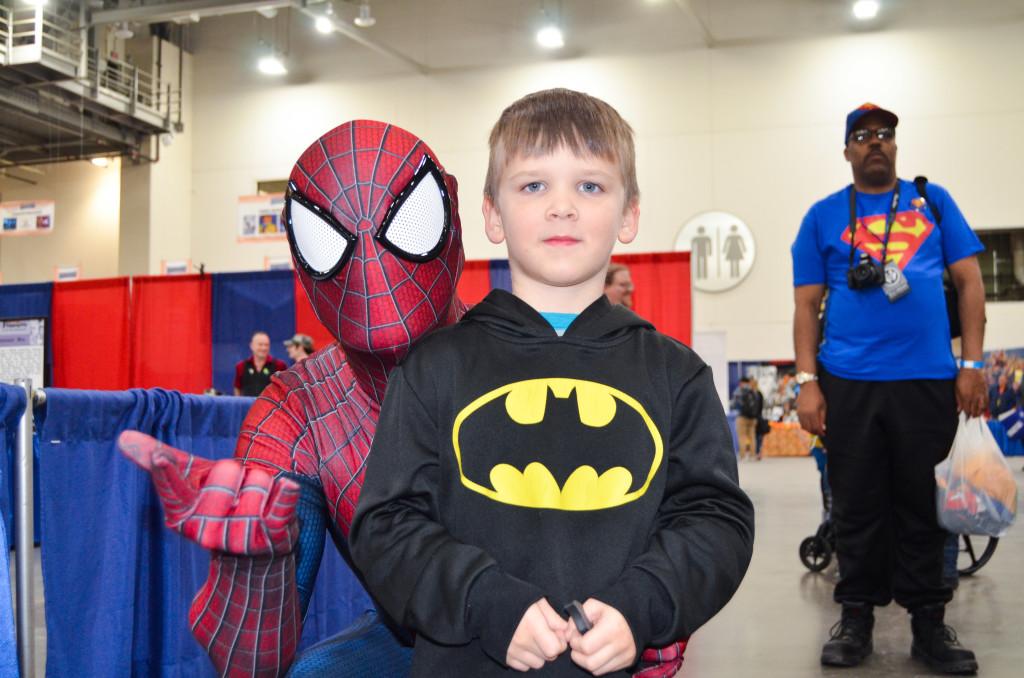 Grand Rapids Comic Con 2019 Spiderman Cosplay