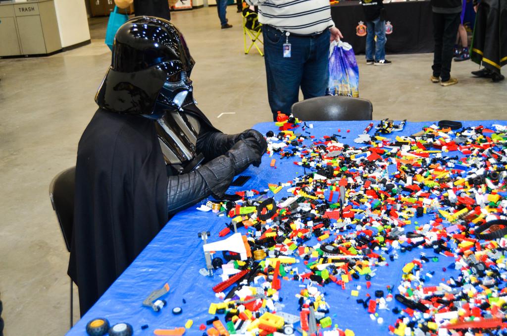 Grand Rapids Comic Con 2019 Darth Vader Legos