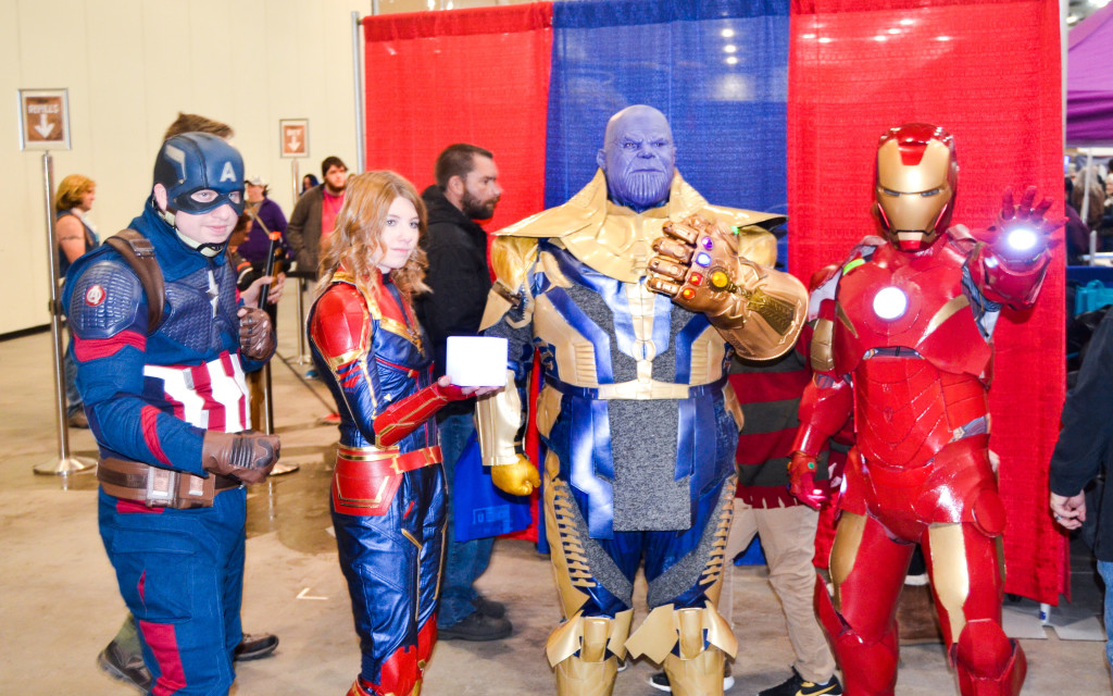 Grand Rapids Comic Con 2019 Avengers Cosplay