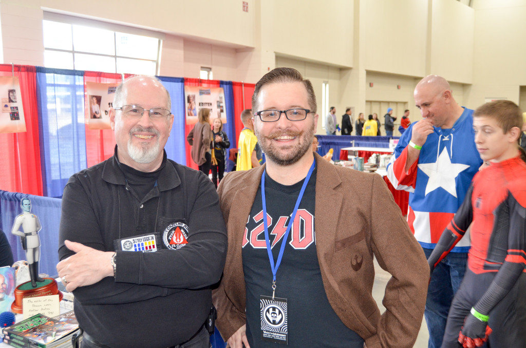 Grand Rapids Comic Con 2019 Timothy Zahn Star Wars Author