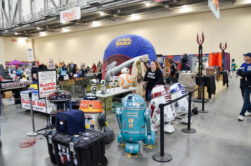 Grand Rapids Comic Con 2019 Star Wars Droids 501st Legion