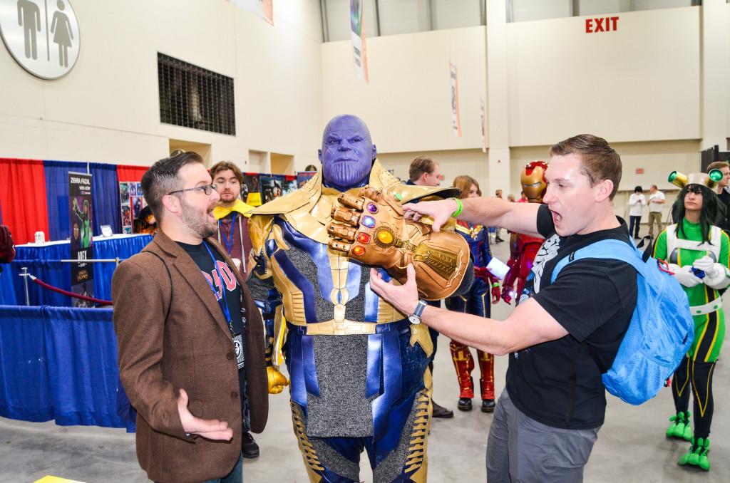 Grand Rapids Comic Con 2019 Thanos Cosplay