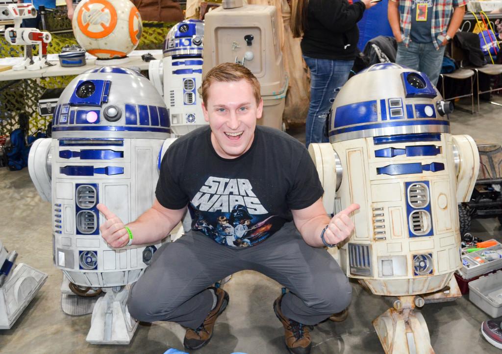 Grand Rapids Comic Con 2019 Todd and Droids