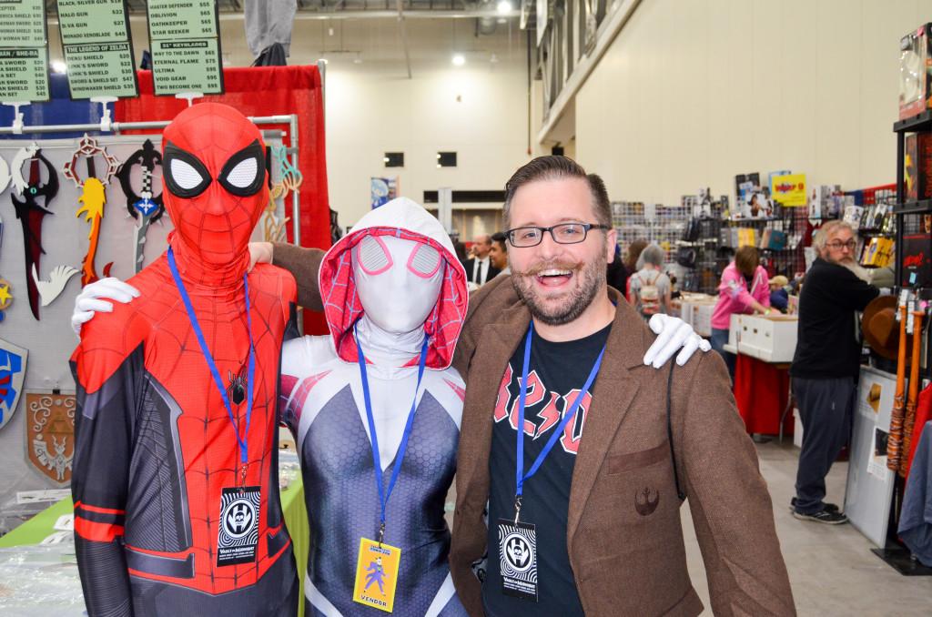 Grand Rapids Comic Con 2019 Spiderman Gwen Cosplay