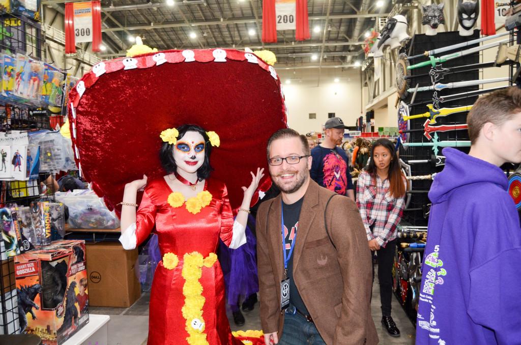Grand Rapids Comic Con 2019 Cosplay Dia De Los Muertos