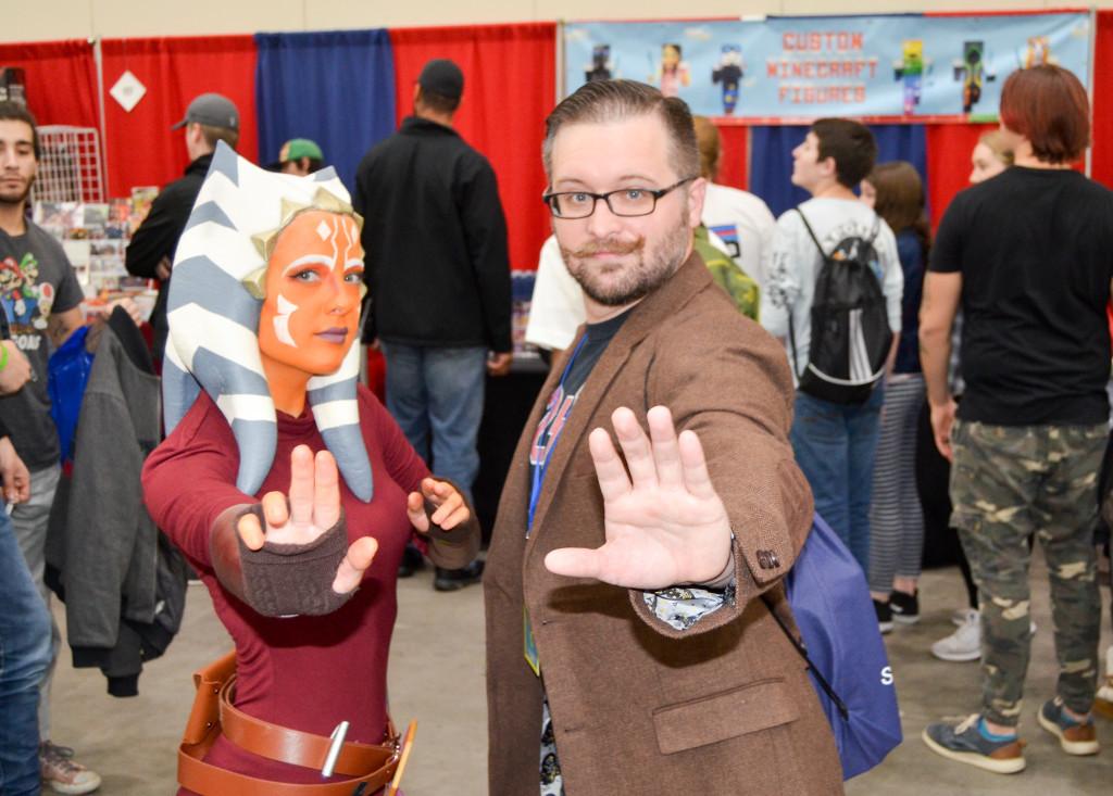 Grand Rapids Comic Con 2019 Ahsoka Tano Cosplay Star Wars
