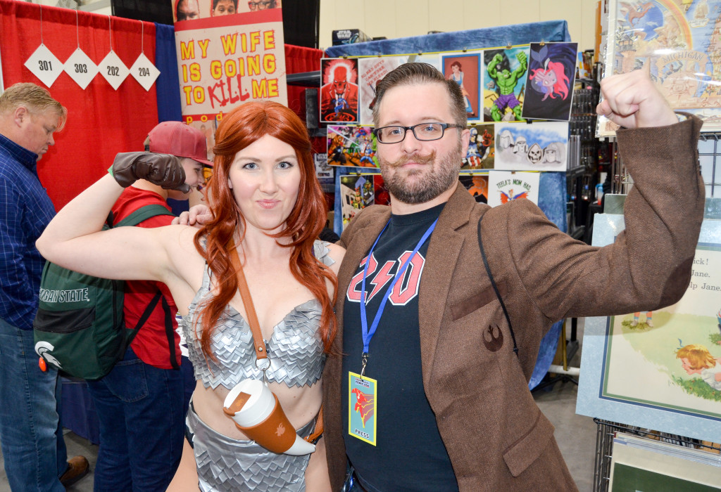 Grand Rapids Comic Con 2019 Red Sonja Cosplay