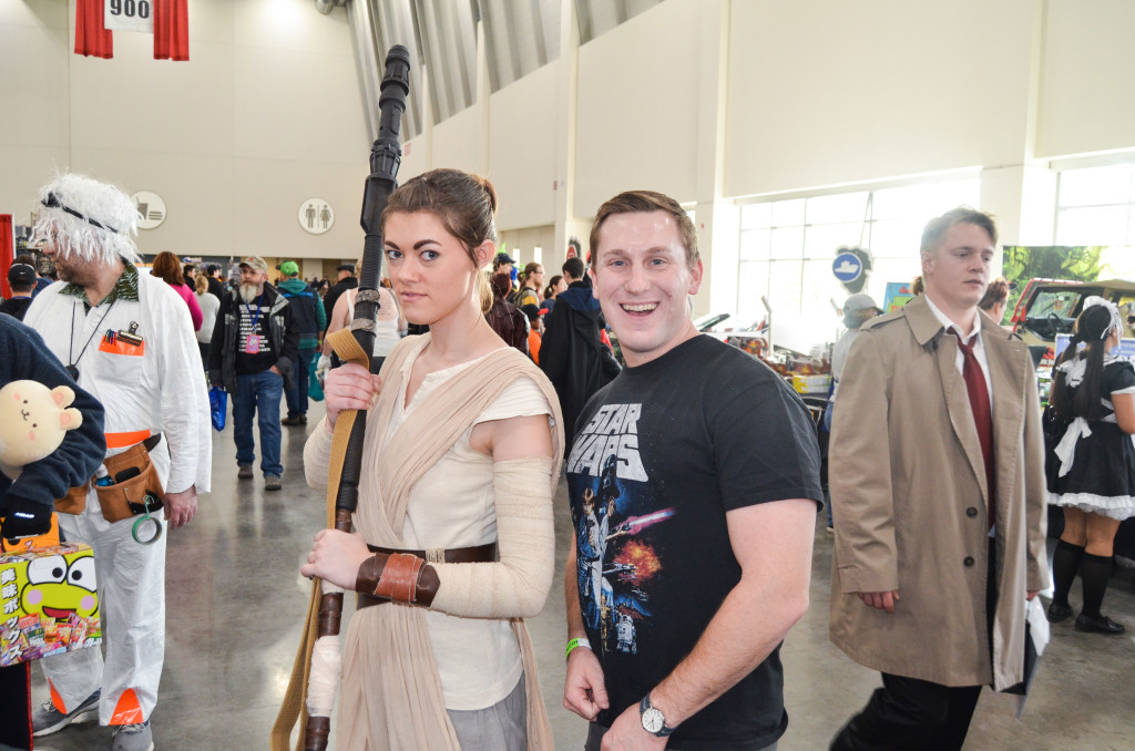 Grand Rapids Comic Con 2019 Star Wars Rey Cosplay