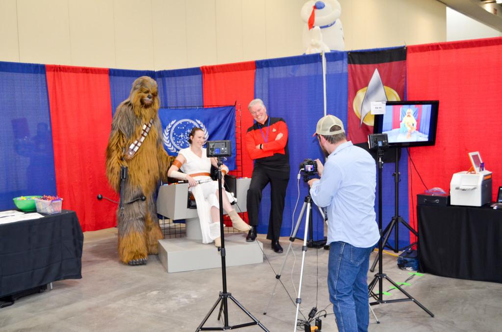 Grand Rapids Comic Con 2019 Star Trek Display
