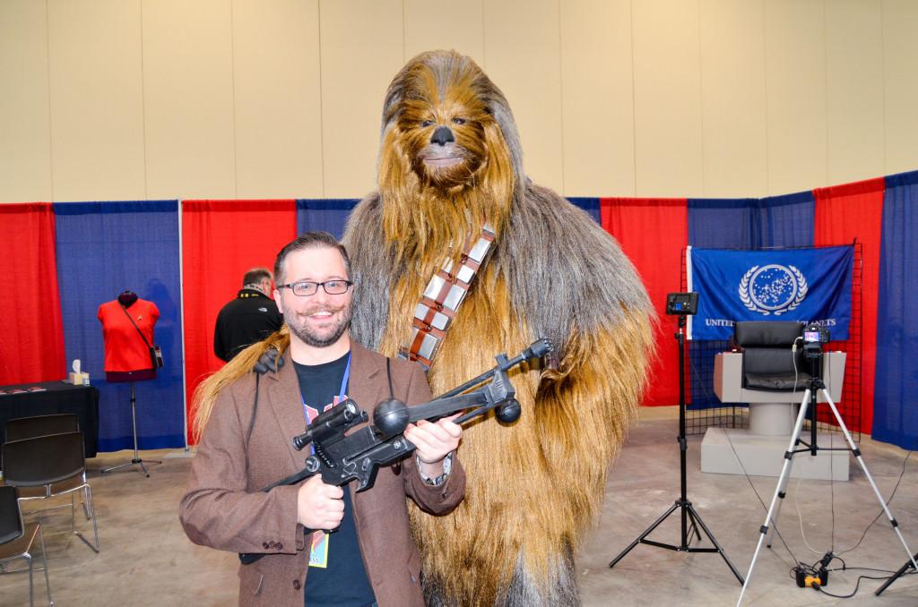 Grand Rapids Comic Con 2019 Chewbacca Cosplay