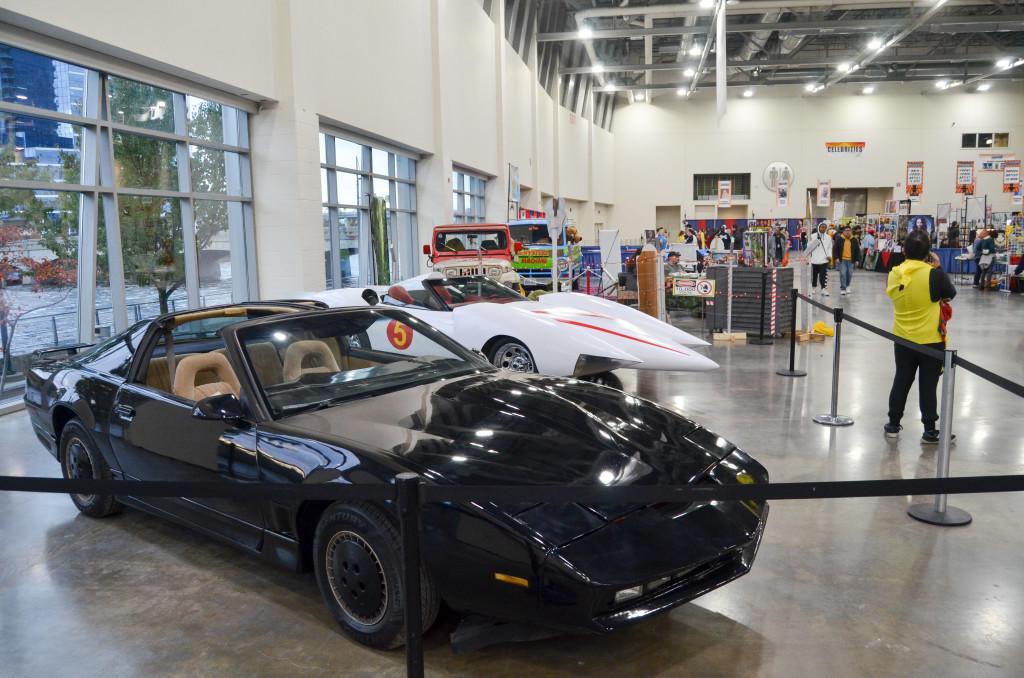 Grand Rapids Comic Con 2019 KITT Speed Racer