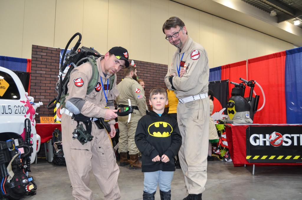 Grand Rapids Comic Con 2019 Ghostbusters