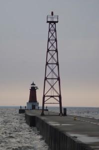 Menominee North Pier Lighthouse MI