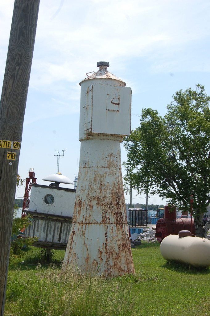 Six Mile Point Front Range Light, DeTour Village
