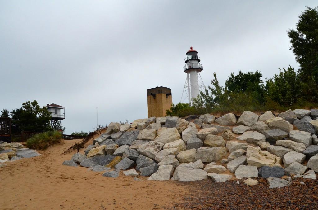 Whitefish Point Lighthouse Lake Superior