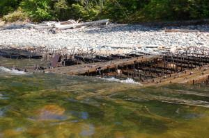 Lake Superior Michigan Shipwreck Map Picture Rocks
