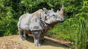 John Ball Zoo BrickLive Lego Rhino