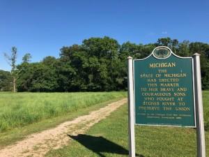 Michigan Civil War History Stones River Tennessee