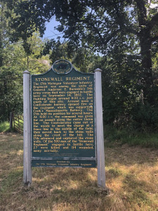 Stonewall Regiment Michigan Historical Marker