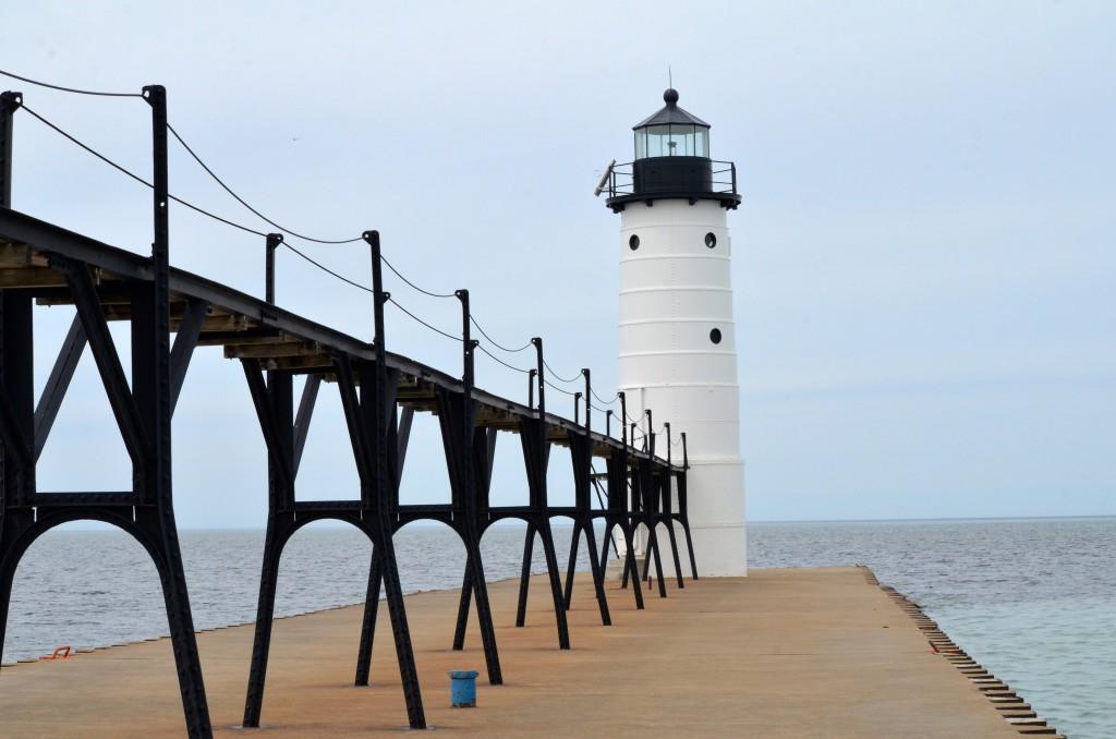 Manistee Pierhead Lighthouse, April