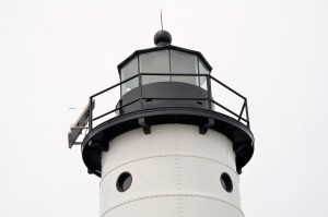 Manistee North Pierhead Lighthouse Tower View