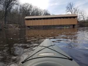 Whites Bridge Covered Bridge Kayak