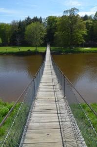 Croswell Swinging Bridge Michigan Vertical