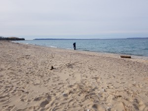 Petoskey Stone Hunting Glen Haven Beach Sleeping Bear Dunes